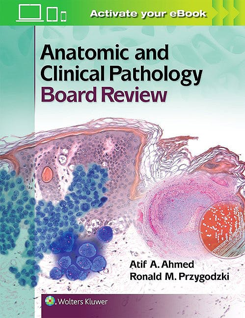 Portada del libro 9781451194432 Anatomic and Clinical Pathology Board Review