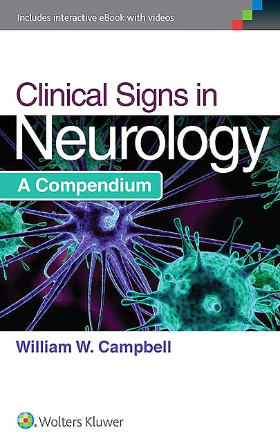 Portada del libro 9781451194456 Clinical Signs in Neurology. a Compendium