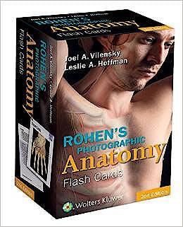 Portada del libro 9781451194500 Rohen's Photographic Anatomy Flash Cards