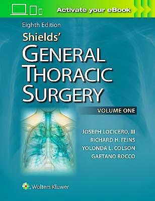 Portada del libro 9781451195224 Shields' General Thoracic Surgery, 2 Vols.