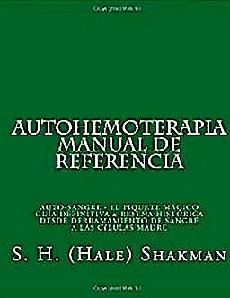 Portada del libro 9781453708514 Autohemoterapia Manual de Referencia