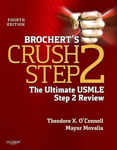Portada del libro 9781455703111 Brochert's Crush Step 2. the Ultimate Usmle Step 2 Review