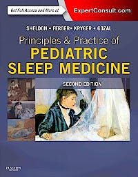 Portada del libro 9781455703180 Principles and Practice of Pediatric Sleep Medicine (Online and Print)