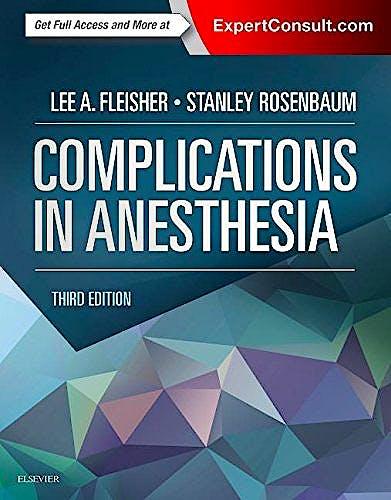 Portada del libro 9781455704118 Complications in Anesthesia