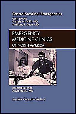 Portada del libro 9781455704392 Gastrointestinal Emergencies, an Issue of Emergency Medicine Clinics, Vol. 29-2