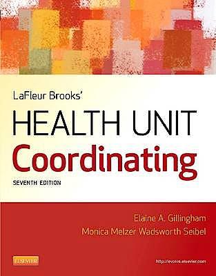 Portada del libro 9781455707201 Lafleur Brooks' Health Unit Coordinating