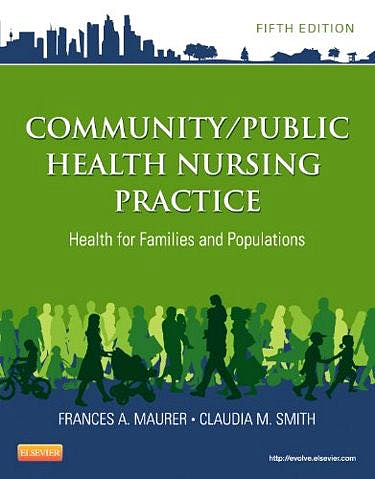 Portada del libro 9781455707621 Community/public Health Nursing Practice. Health for Families and Populations