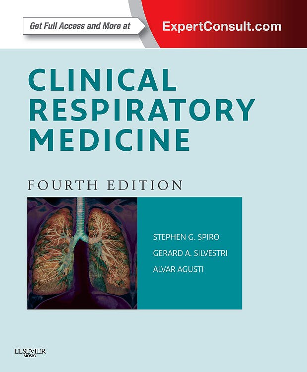 Portada del libro 9781455707928 Clinical Respiratory Medicine (Online and Print)