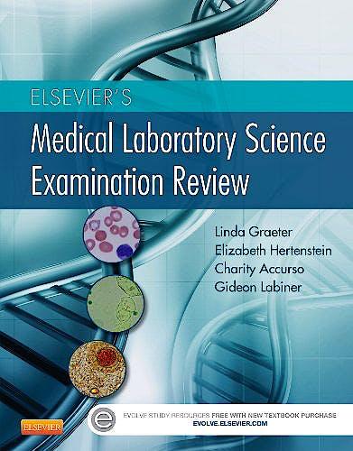 Portada del libro 9781455708895 Elsevier's Medical Laboratory Science Examination Review