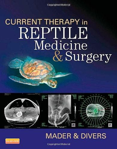 Portada del libro 9781455708932 Current Therapy in Reptile Medicine and Surgery