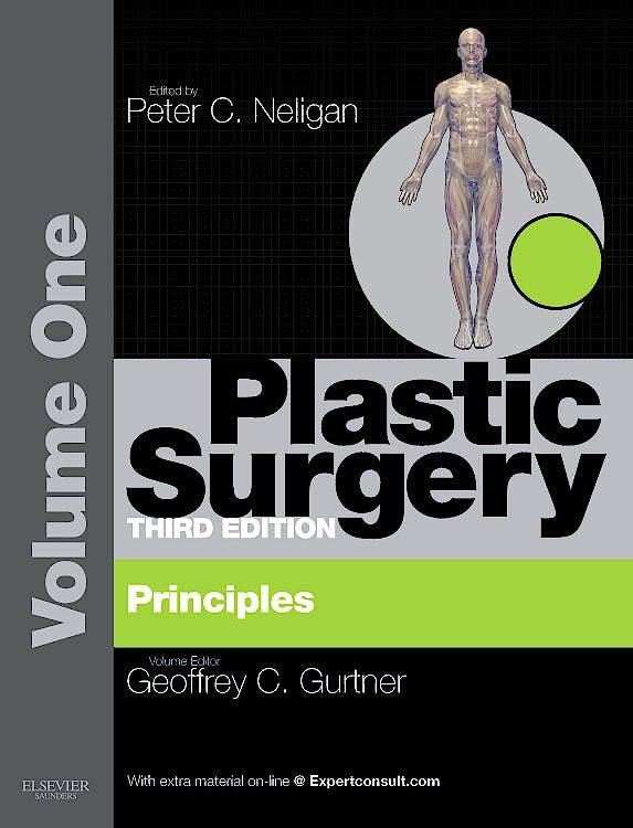 Portada del libro 9781455710522 Plastic Surgery, Vol. 1: Principles (Online and Print)