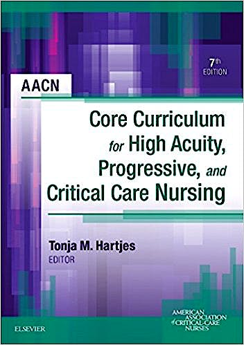 Portada del libro 9781455710652 AACN Core Curriculum for High Acuity, Progressive, and Critical Care Nursing