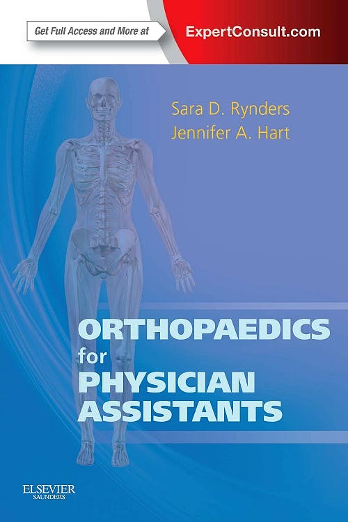 Portada del libro 9781455725311 Orthopaedics for Physician Assistants (Online and Print)