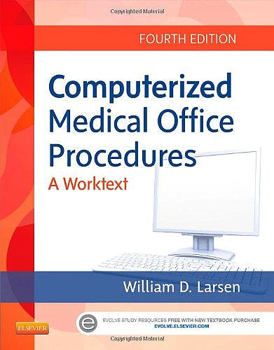 Portada del libro 9781455726202 Computerized Medical Office Procedures