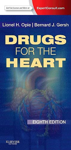 Portada del libro 9781455733224 Drugs for the Heart (Online and Print)