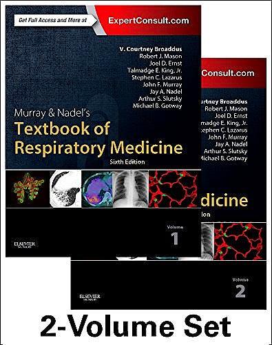 Portada del libro 9781455733835 Murray and Nadel's Textbook of Respiratory Medicine, 2 Vols.