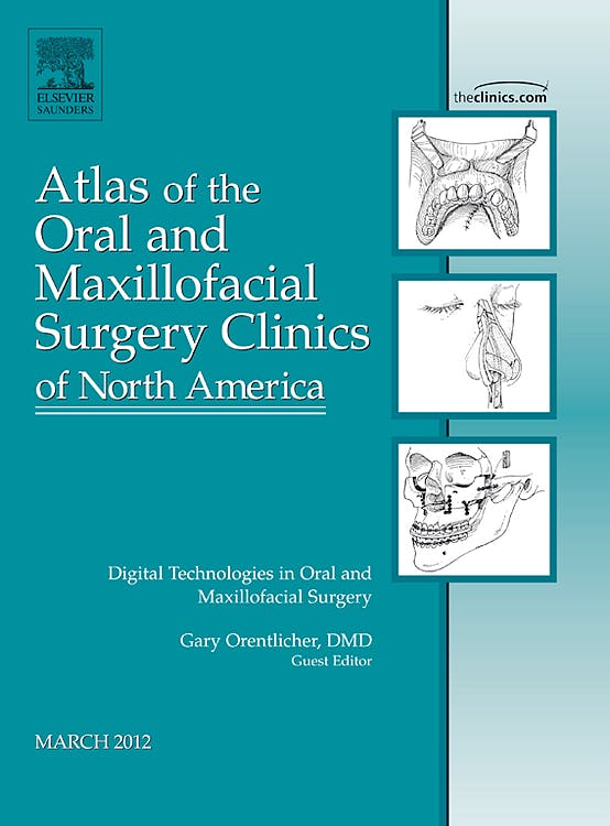 Portada del libro 9781455738342 Atlas of the Oral and Maxillofacial Surgery Clinics of North America, Vol. 20-1