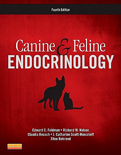 Portada del libro 9781455744565 Canine and Feline Endocrinology