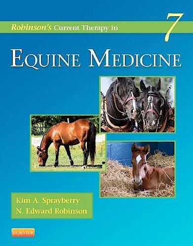 Portada del libro 9781455745555 Robinson's Current Therapy in Equine Medicine