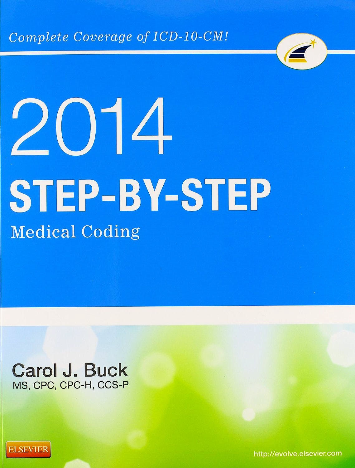 Portada del libro 9781455746354 Step-by-Step Medical Coding, 2014 Edition