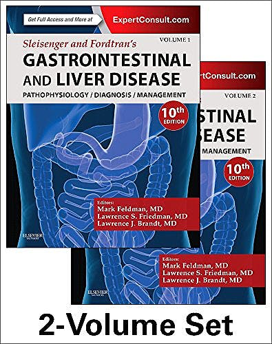Portada del libro 9781455746927 Sleisenger and Fordtran's Gastrointestinal and Liver Disease. Pathophysiology, Diagnosis, Management, 2 Vols.