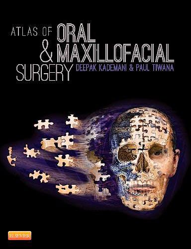 Portada del libro 9781455753284 Atlas of Oral and Maxillofacial Surgery