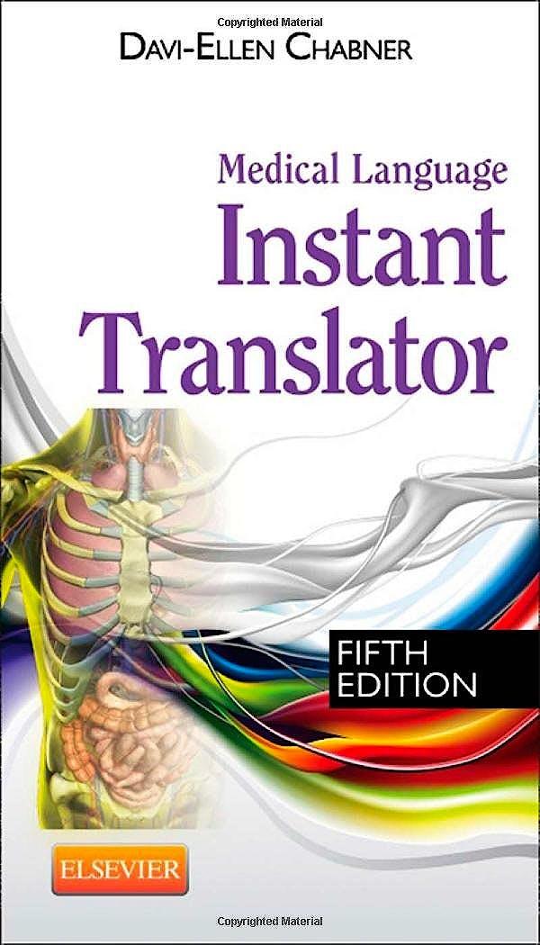 Portada del libro 9781455758319 Medical Language Instant Translator