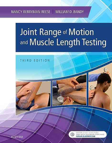 Portada del libro 9781455758821 Joint Range of Motion and Muscle Length Testing