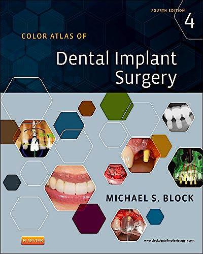 Portada del libro 9781455759682 Color Atlas of Dental Implant Surgery