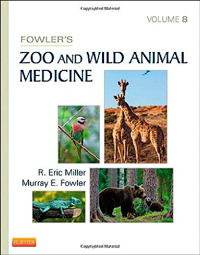 Portada del libro 9781455773978 Fowler's Zoo and Wild Animal Medicine, Vol. 8