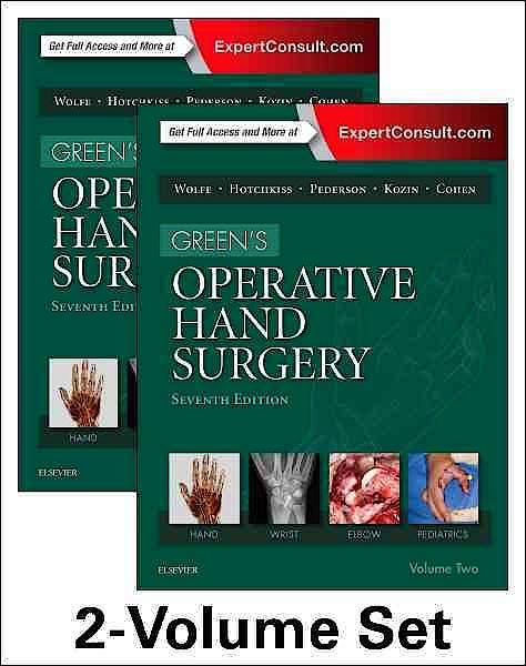 Portada del libro 9781455774272 GREEN's Operative Hand Surgery (2 Volume Set)