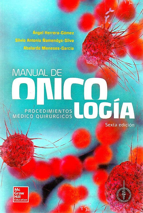 Portada del libro 9781456254711 Manual de Oncologia. Procedimientos Medico Quirurgicos