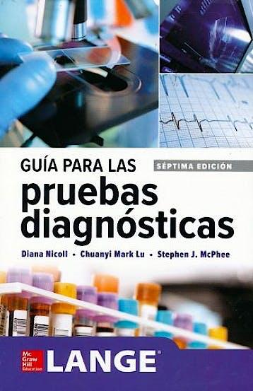 Portada del libro 9781456261283 Guía para las Pruebas Diagnósticas. Lange