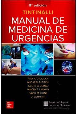 Portada del libro 9781456263133 Tintinalli Manual de Medicina de Urgencias