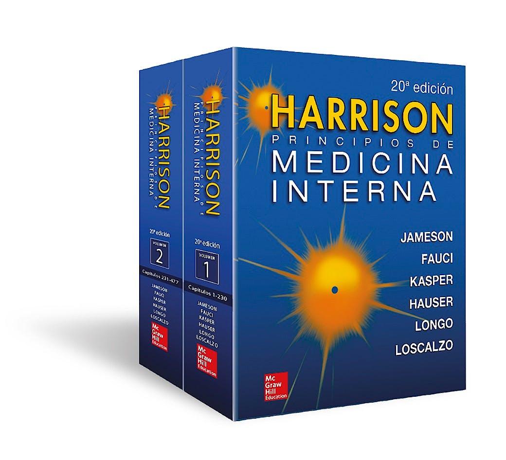 Portada del libro 9781456264864 HARRISON Principios de Medicina Interna, 2 Vols.
