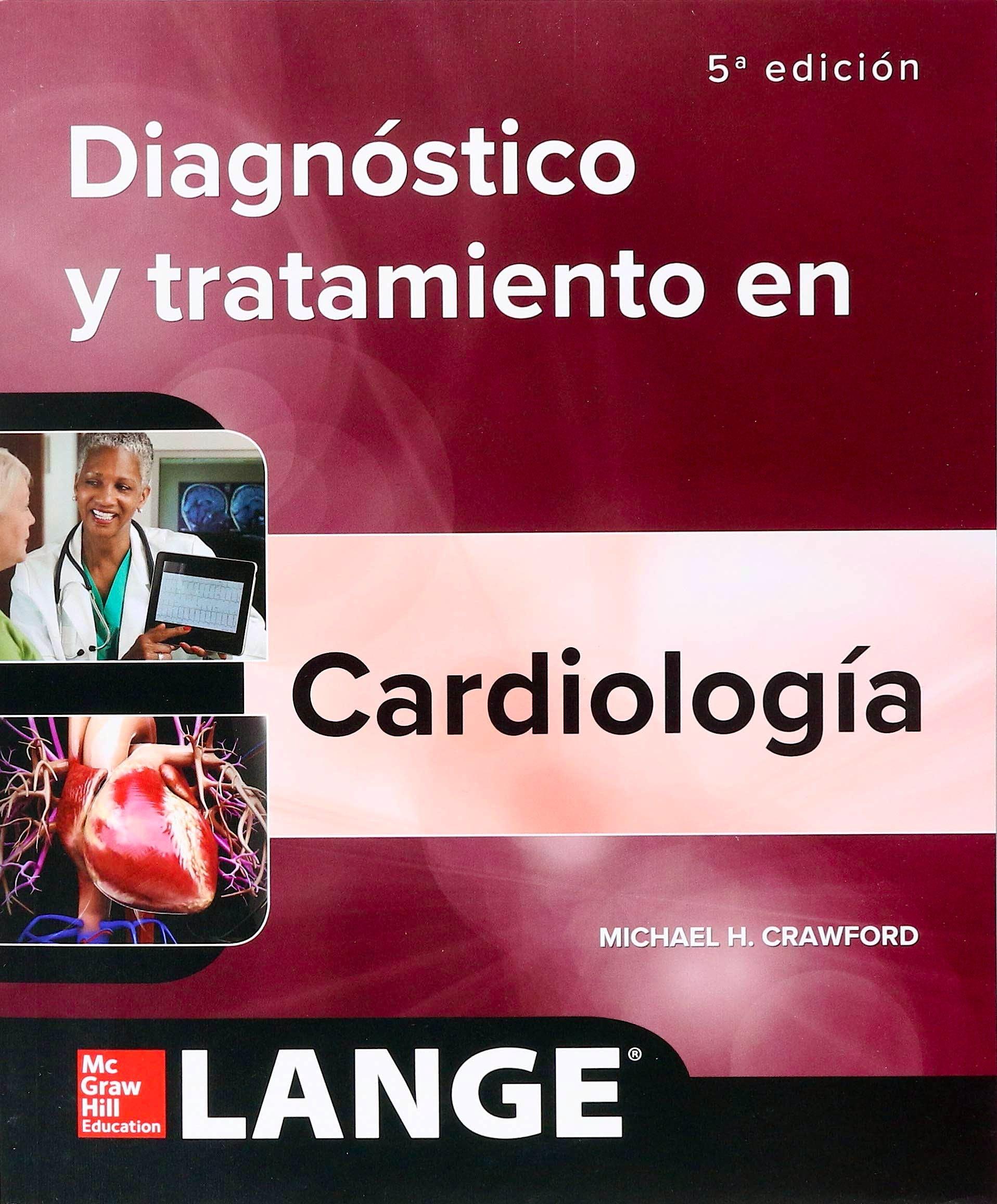 Portada del libro 9781456266288 Diagnóstico y Tratamiento en Cardiología. LANGE