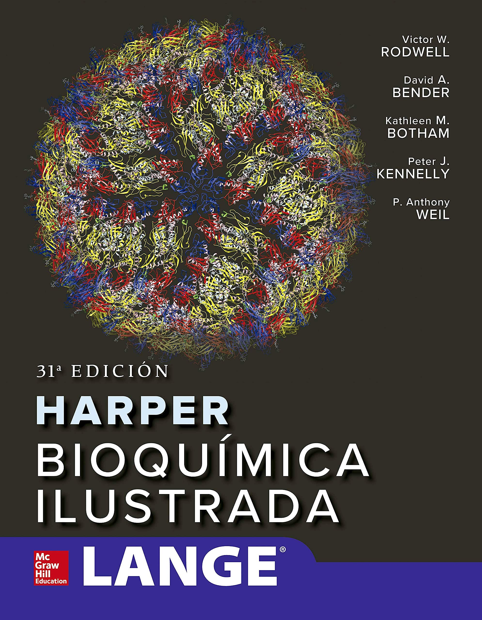 Portada del libro 9781456267384 HARPER Bioquímica Ilustrada. LANGE