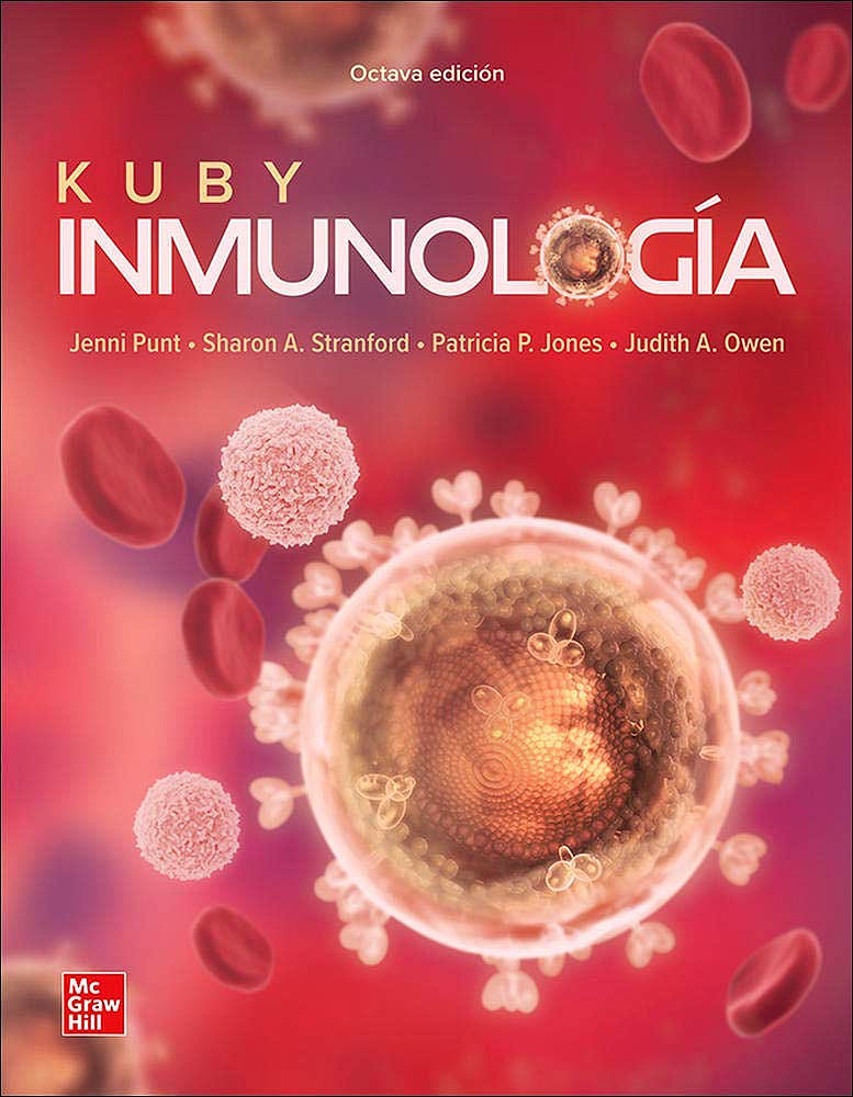 Portada del libro 9781456273798 KUBY Inmunología