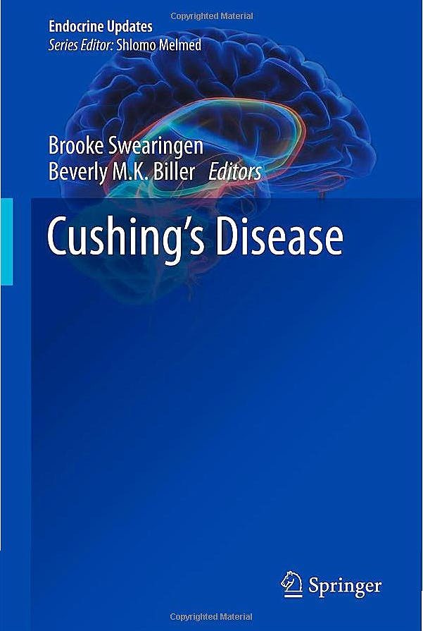 Portada del libro 9781461400103 Cushing's Disease (Endocrine Updates, Vol. 31)