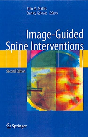 Portada del libro 9781461405252 Image-Guided Spine Interventions (Softcover)