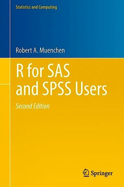 Portada del libro 9781461406846 R for Sas and Spss Users