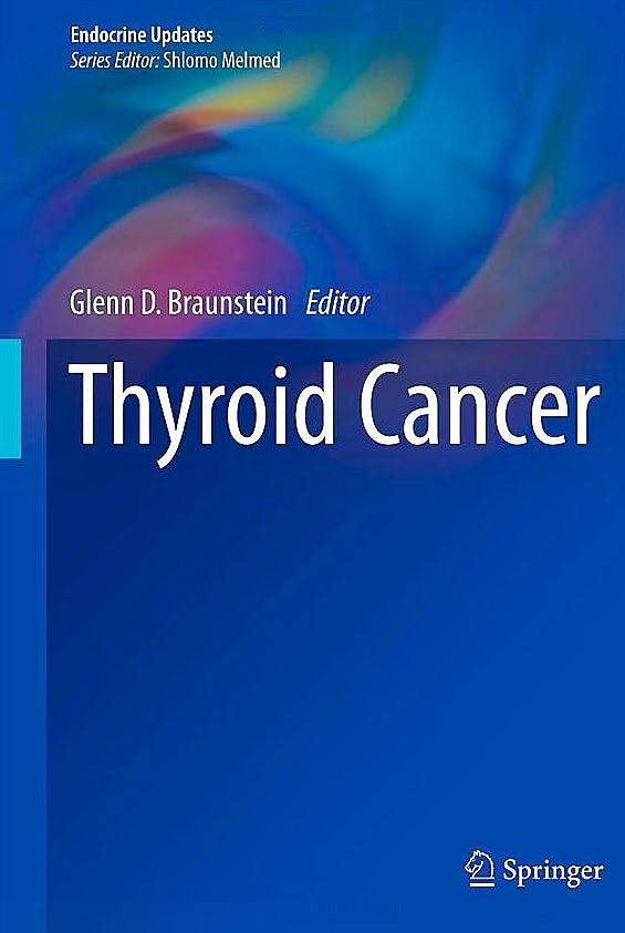 Portada del libro 9781461408741 Thyroid Cancer