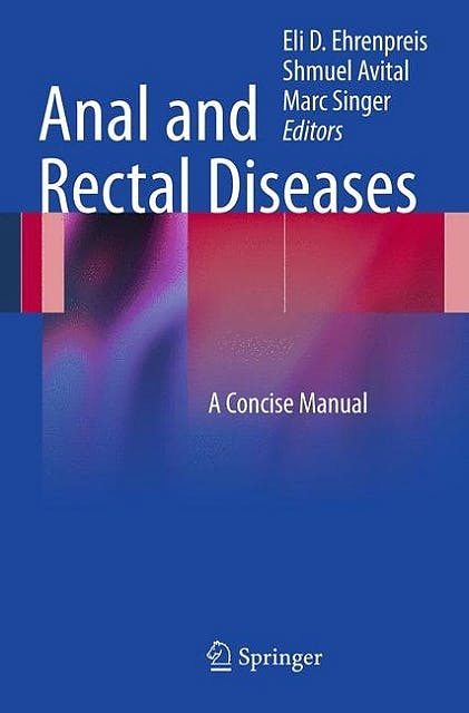 Portada del libro 9781461411017 Anal and Rectal Diseases. A Concise Manual