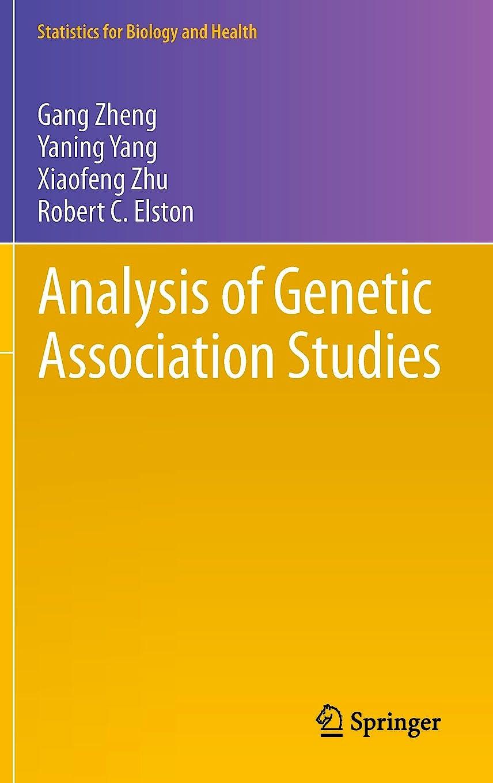 Portada del libro 9781461422440 Analysis of Genetic Association Studies
