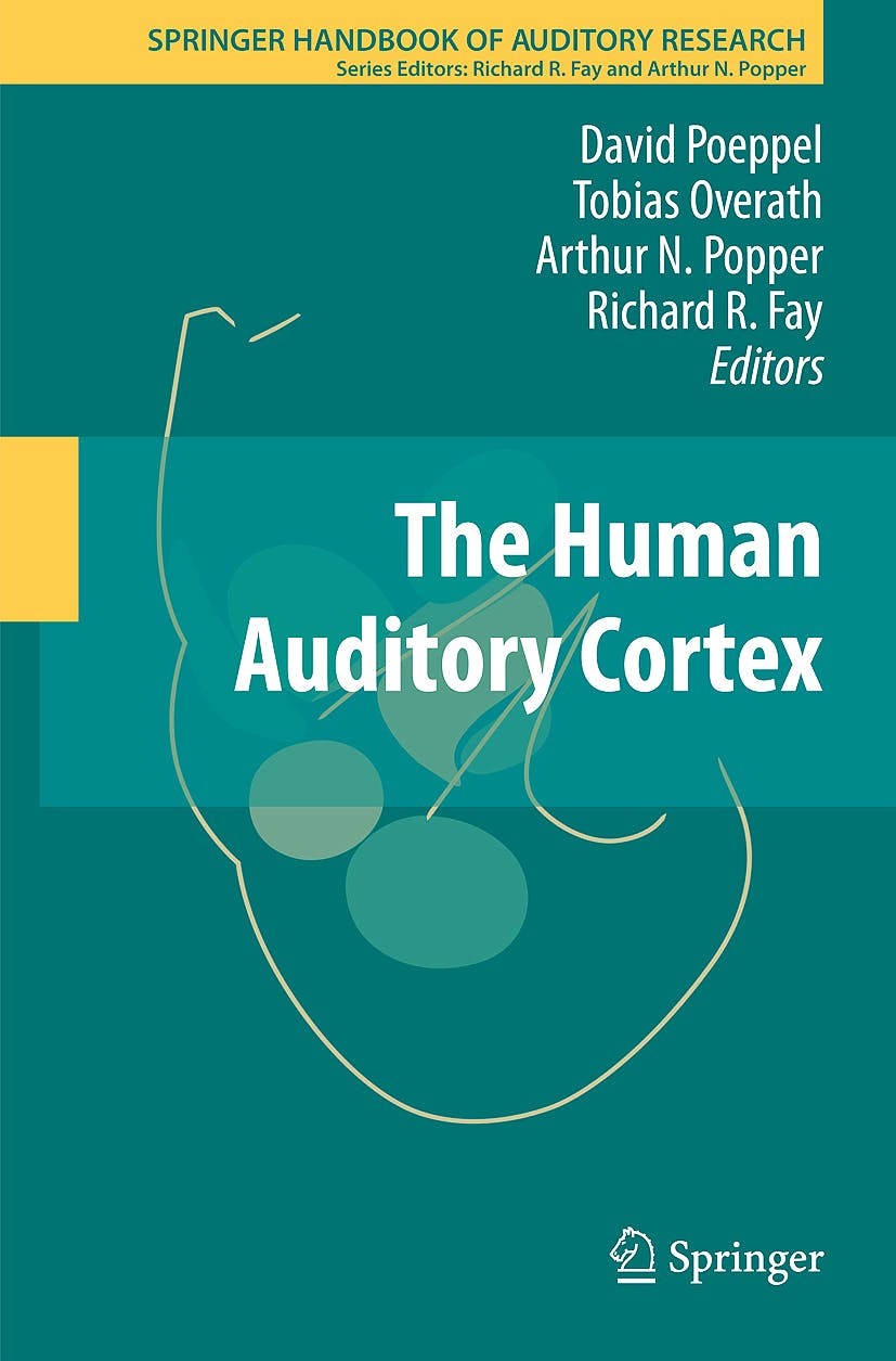 Portada del libro 9781461423133 The Human Auditory Cortex (Springer Handbook of Auditory Research, Vol. 43)