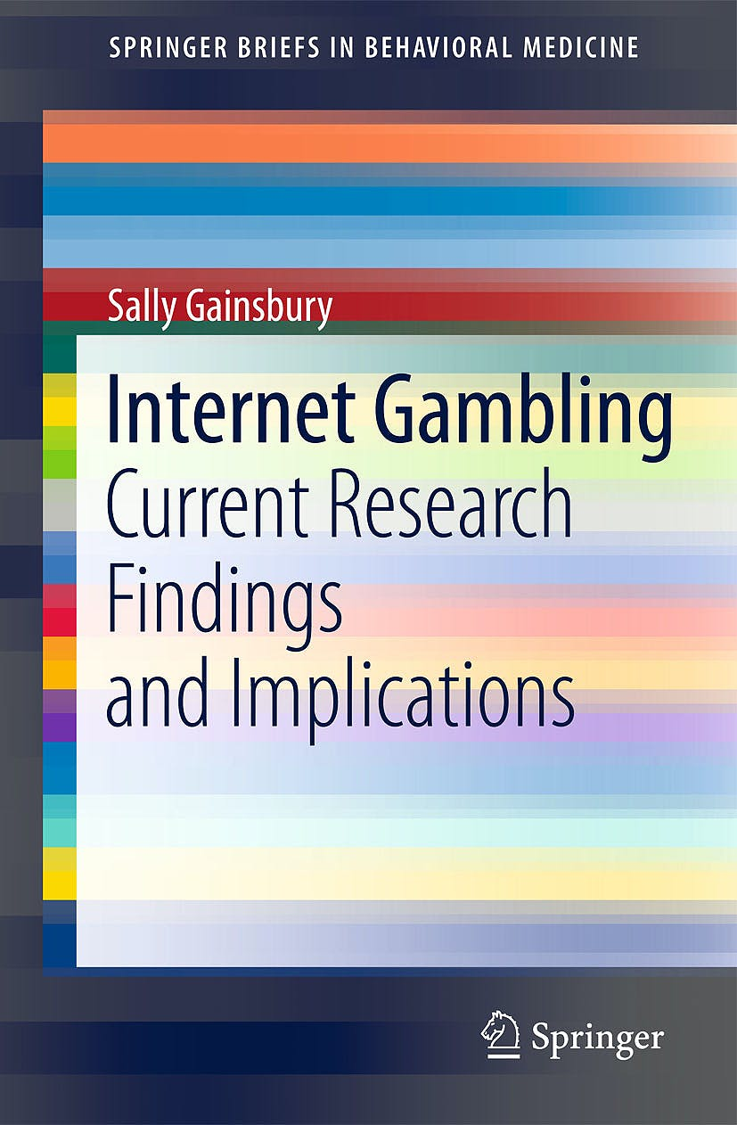 Portada del libro 9781461433897 Internet Gambling, Current Research Findings and Implications