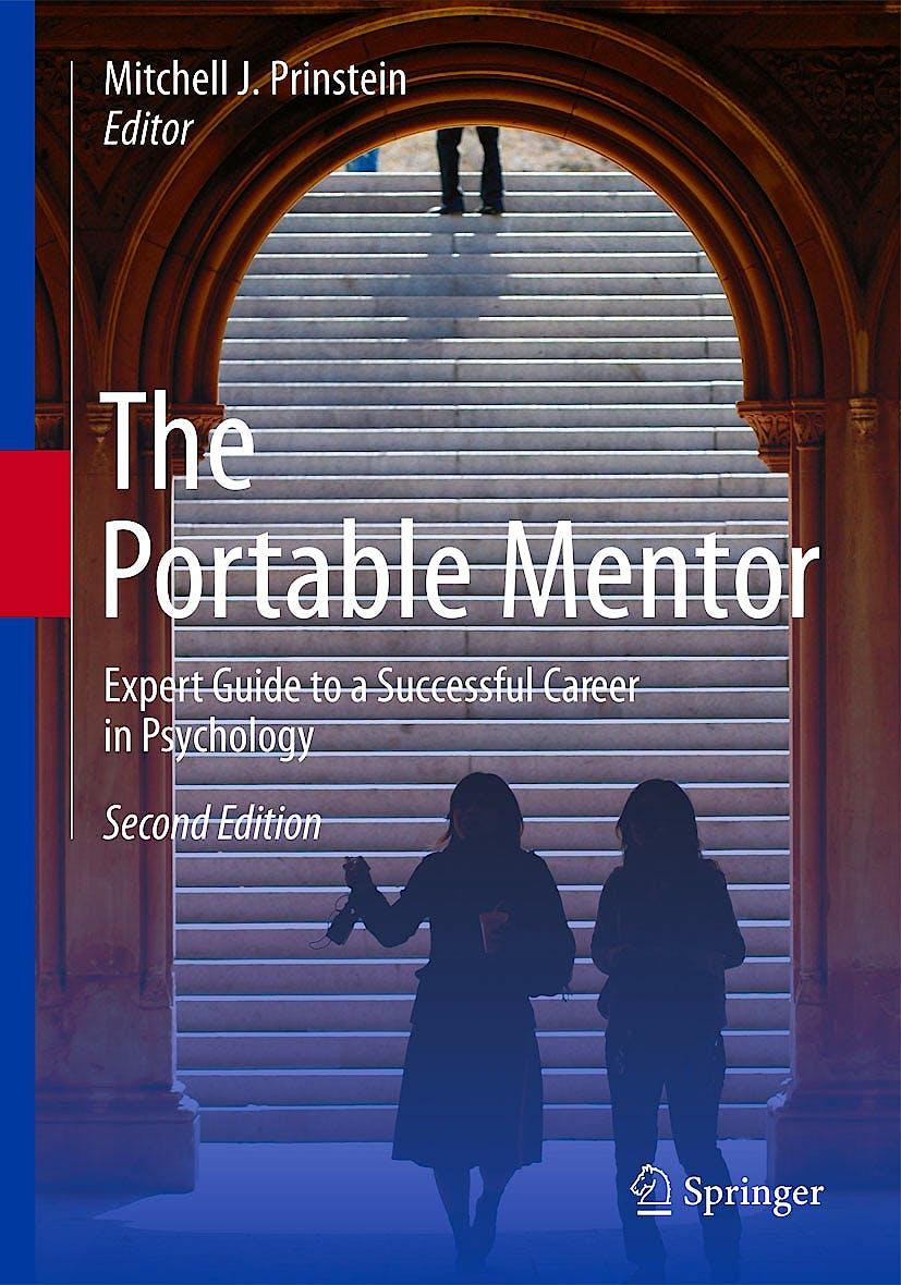 Portada del libro 9781461439936 The Portable Mentor. Expert Guide to a Successful Career in Psychology