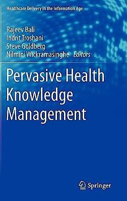 Portada del libro 9781461445135 Pervasive Health Knowledge Management