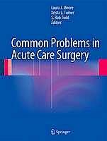 Portada del libro 9781461461227 Common Problems in Acute Care Surgery