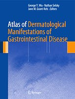 Portada del libro 9781461461906 Atlas of Dermatological Manifestations of Gastrointestinal Disease
